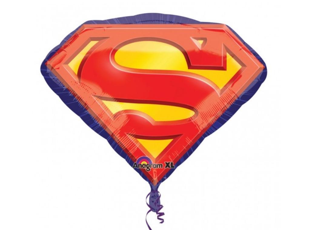 Superman Emblem Foil Balloon
