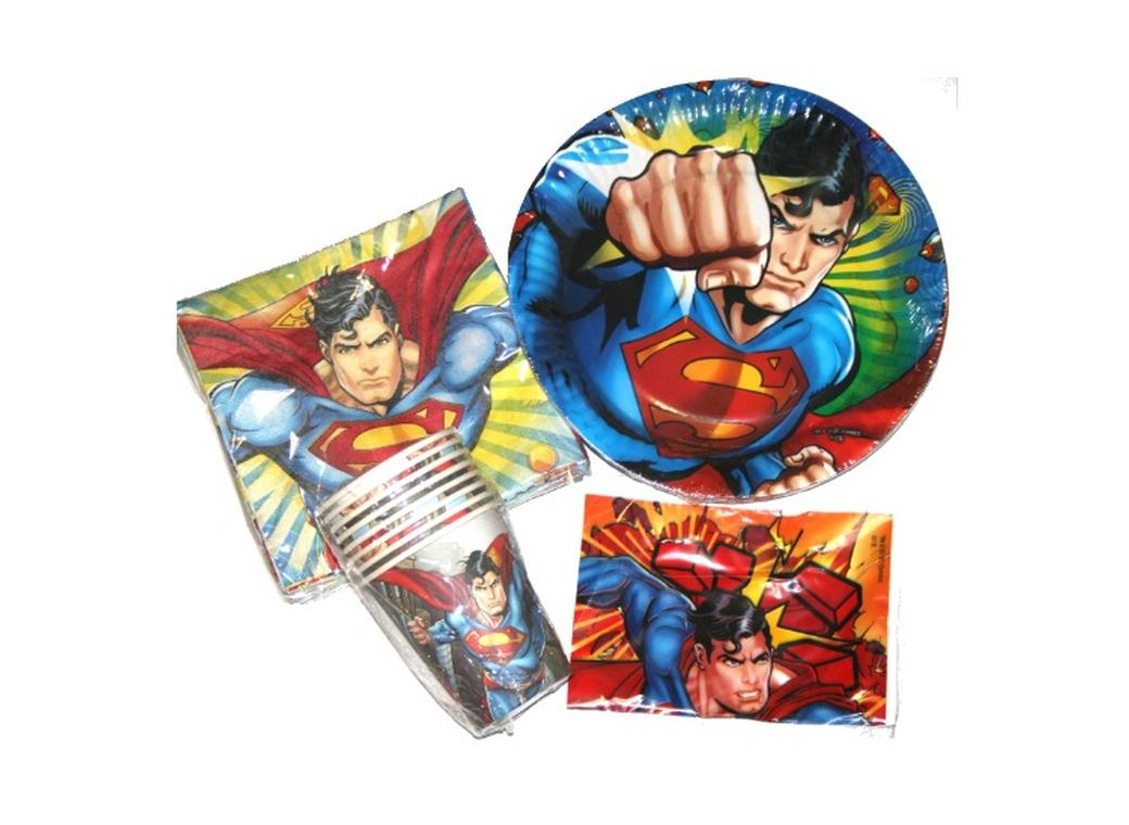 Superman Party Pack 40pce