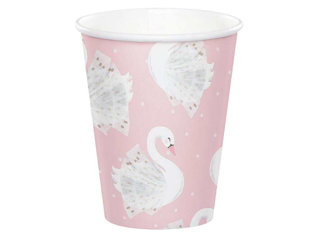 Swan Party Cups 8pk