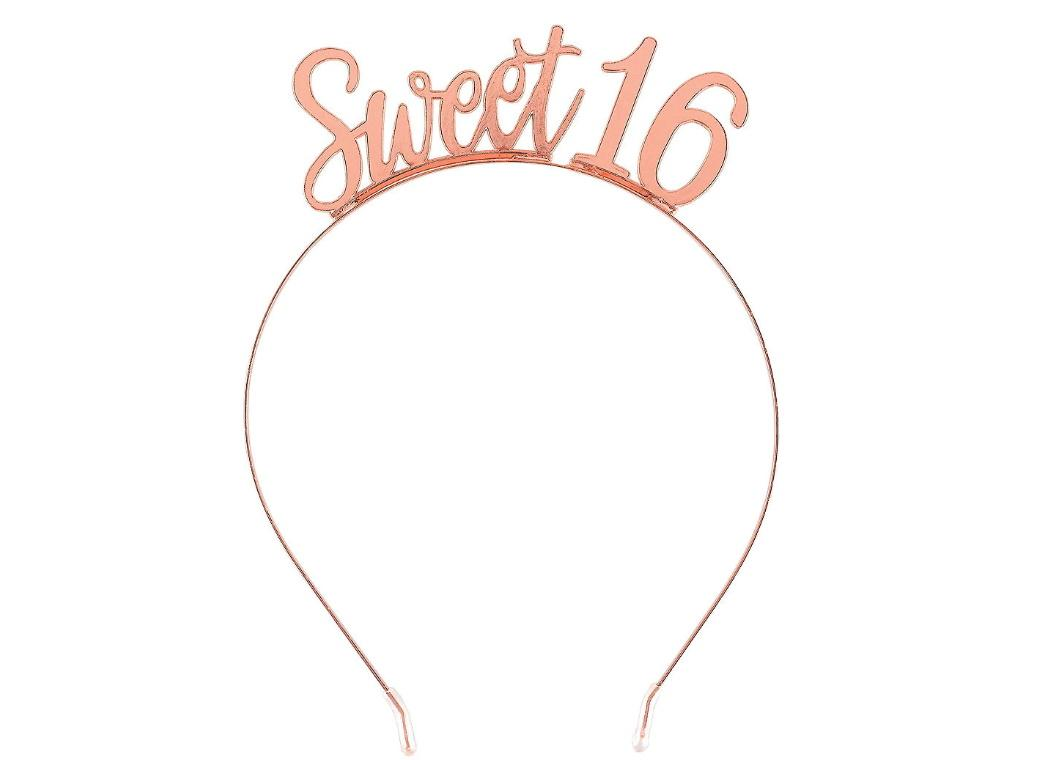 Sweet 16 Rose Gold Headband