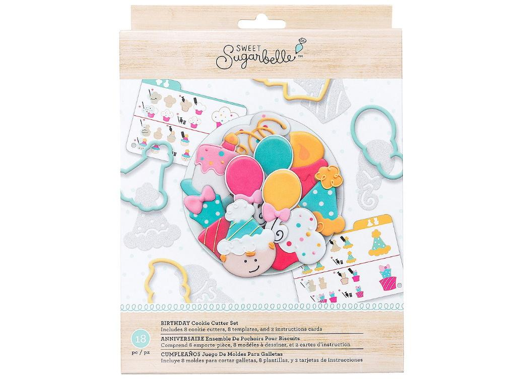 Sweet Sugarbelle Birthday Cutters Set