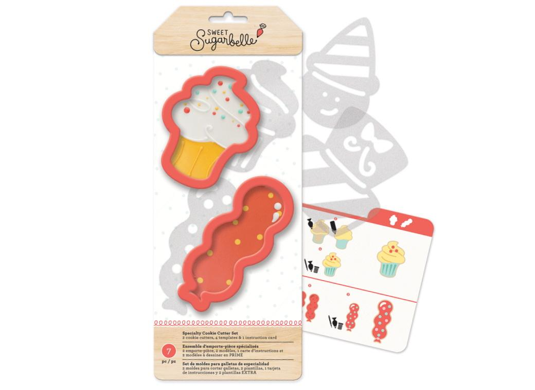 Sweet Sugarbelle Celebrate Cookie Cutter Set