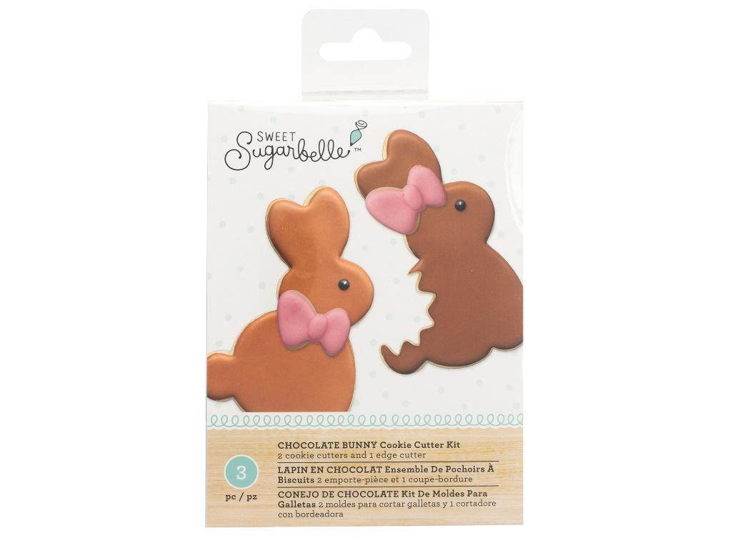 Sweet Sugarbelle Giant Bunny Cookie Cutter Set