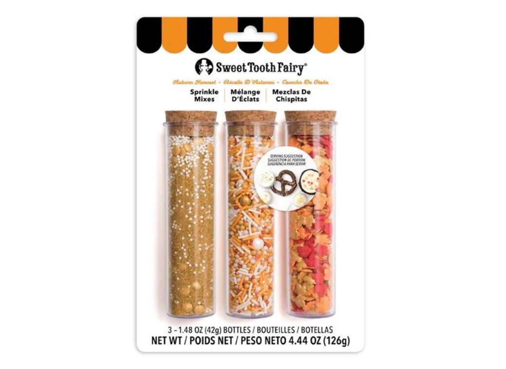 Sweet Tooth Fairy Autumn Harvest Sprinkle Mix