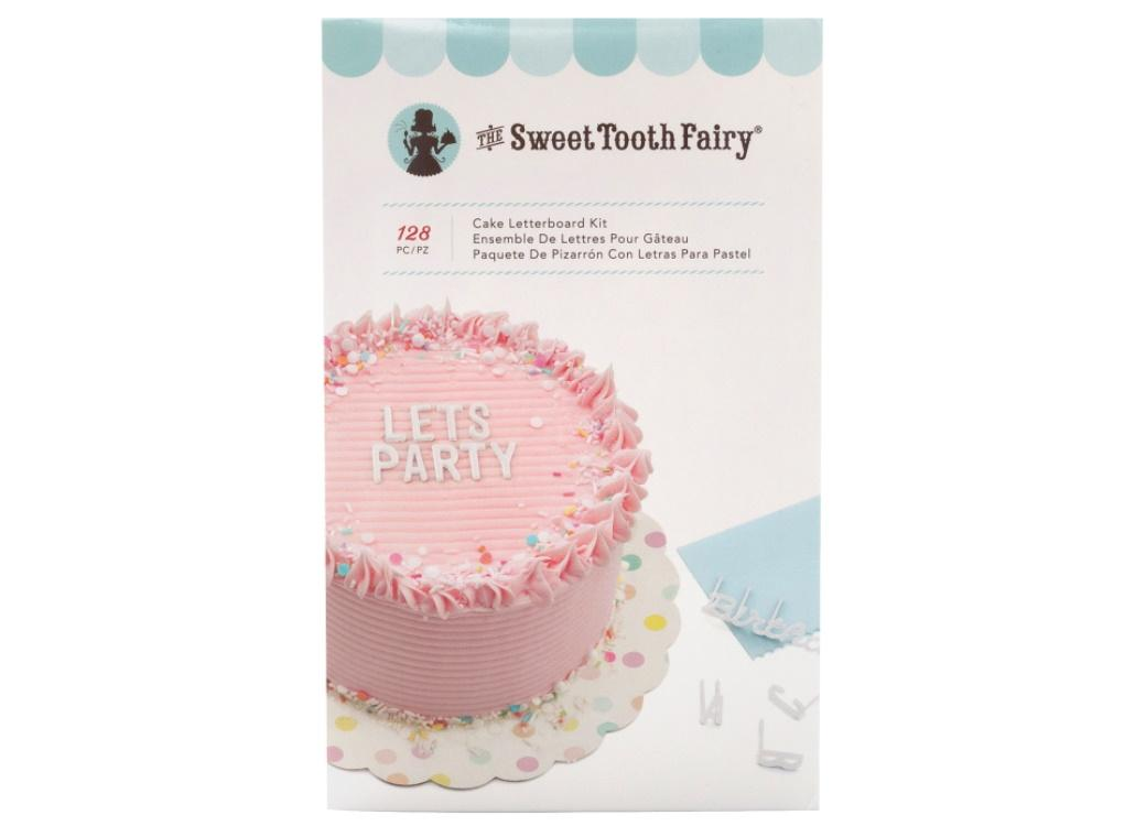 Sweet Tooth Fairy Cake Letterboard Kit White