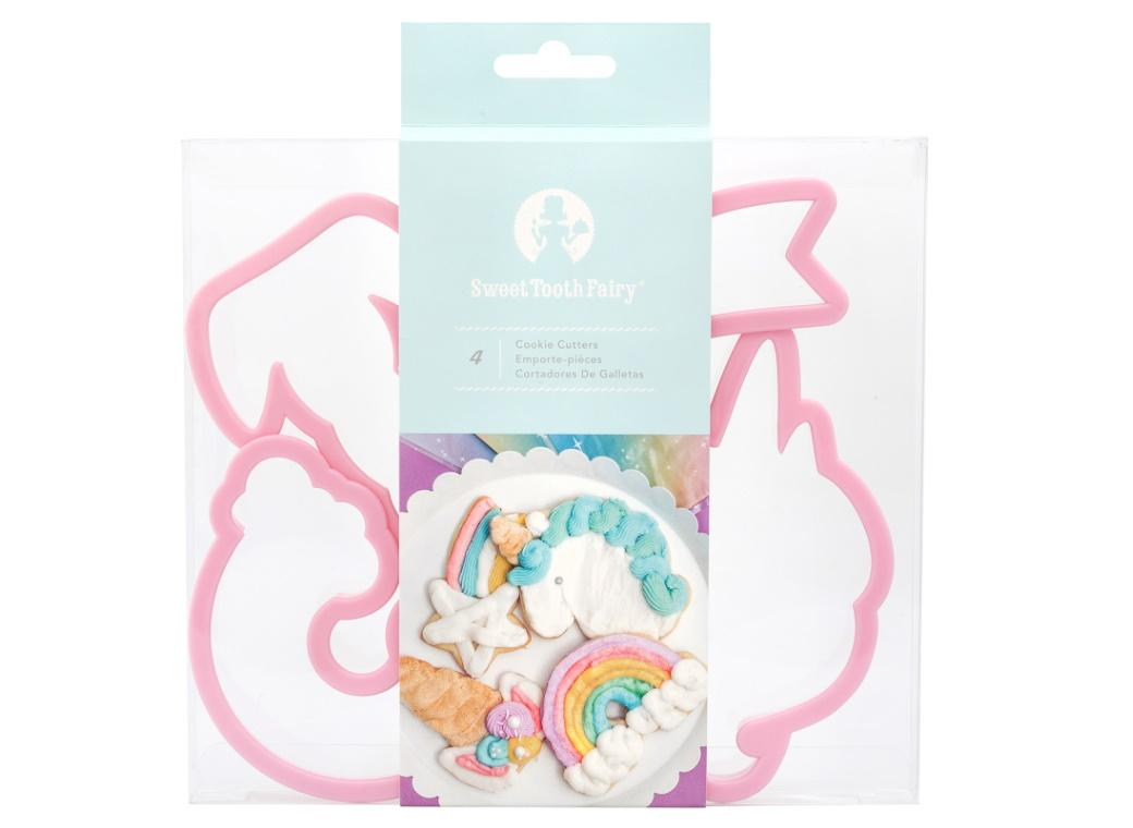 Sweet Tooth Fairy Unicorn Cookie Cutter Set
