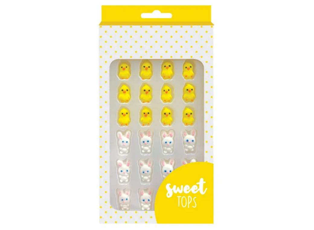 Sweet Tops Edible Decorations - Bunny & Chick