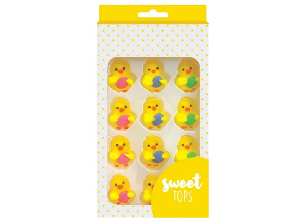 Sweet Tops Edible Decorations - Chick with Egg