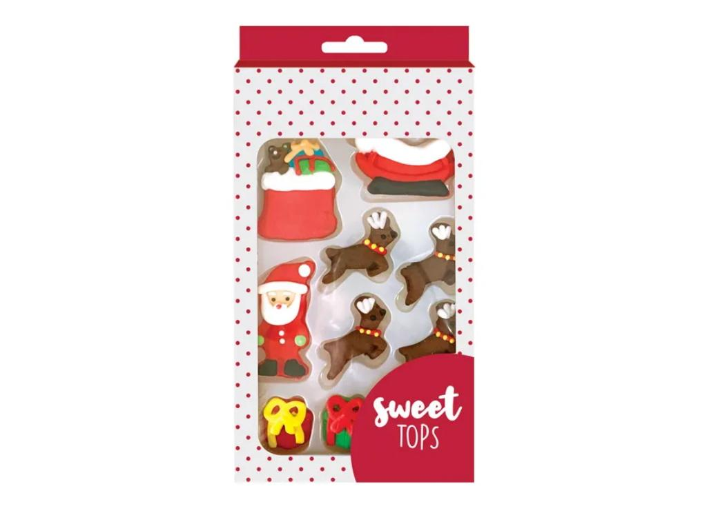 Sweet Tops Edible Decorations - Christmas