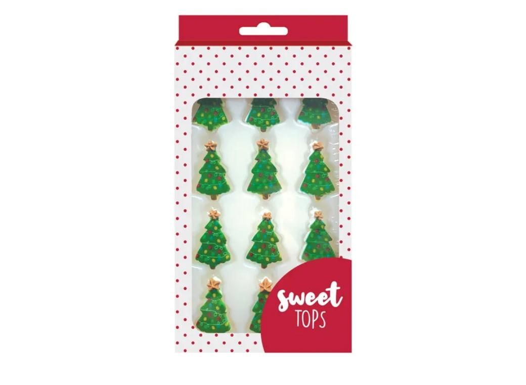 Sweet Tops Edible Decorations - Christmas Trees