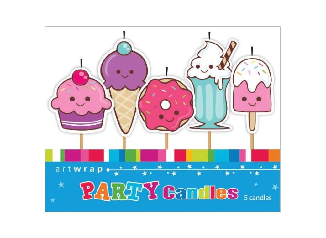 Party Candles - Sweets