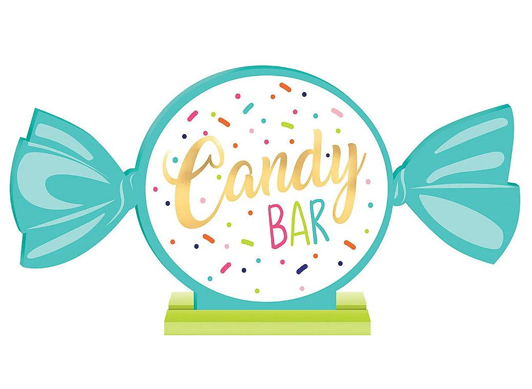 Sweets & Treats Candy Bar Sign