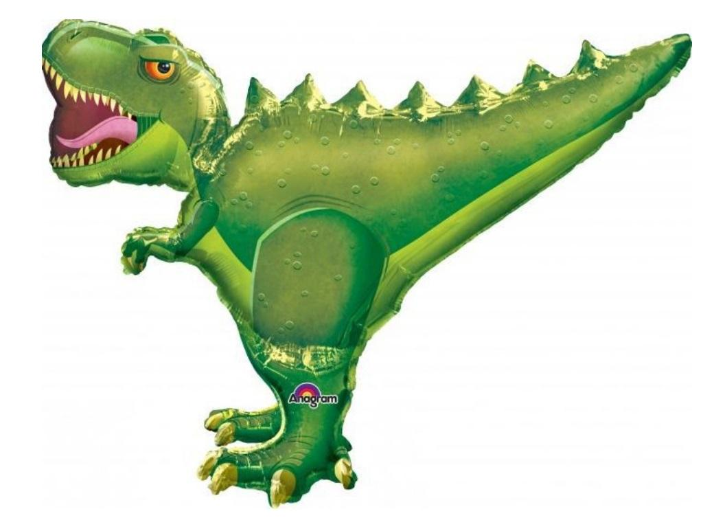 T-Rex SuperShape Foil Balloon