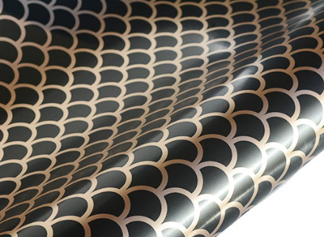Table Runner / Wrap - Upscale Black & Gold
