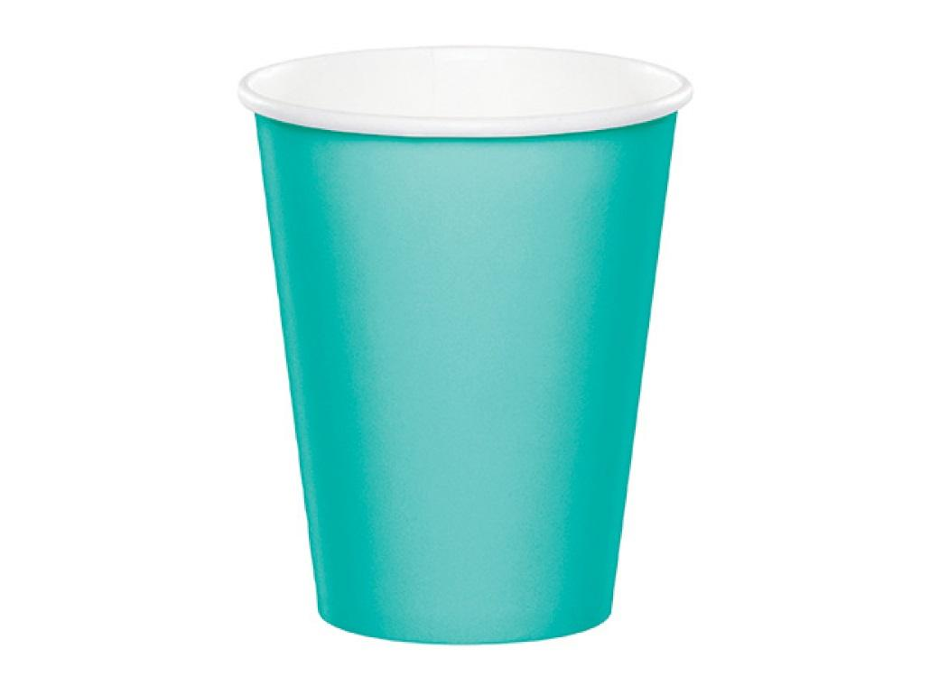Paper Cups 12pk - Teal Lagoon