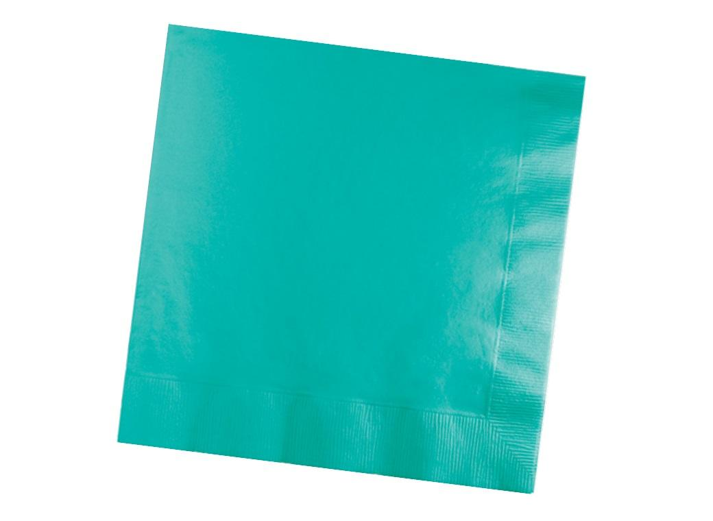 Teal Lagoon Lunch Napkins 50pk