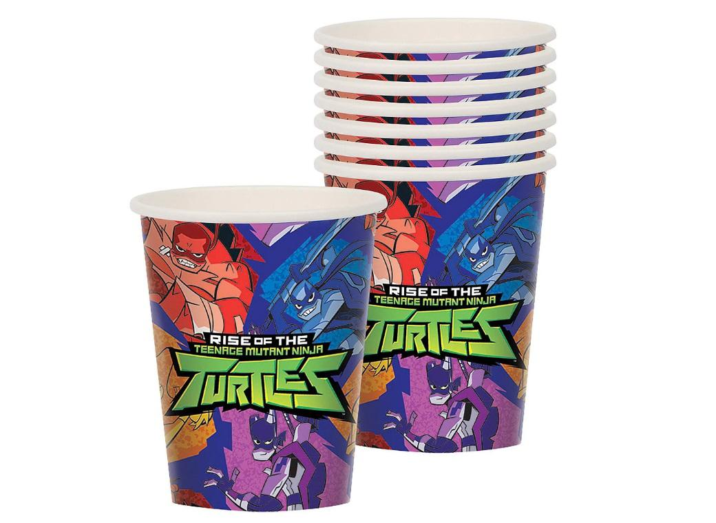Teenage Mutant Ninja Turtles Cups - 8pk