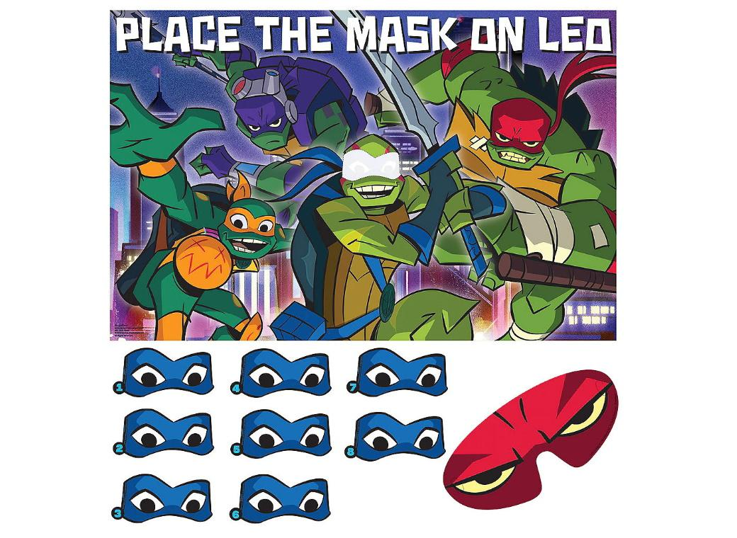 Teenage Mutant Ninja Turtles Party Game