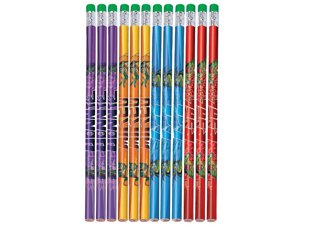 Teenage Mutant Ninja Turtles Pencils 12pk