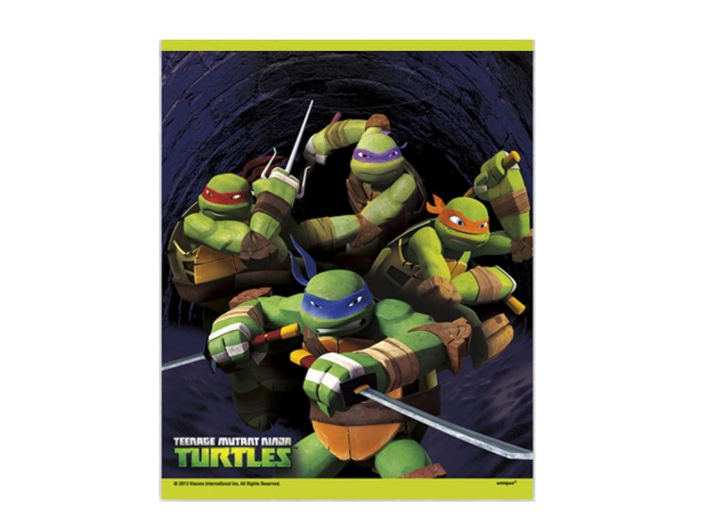 Teenage Mutant Ninja Turtles Loot Bags - 8pk