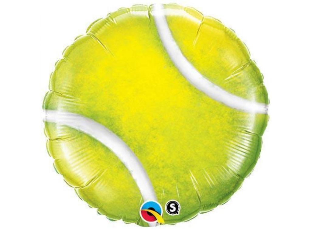 Tennis Ball Foil Balloon
