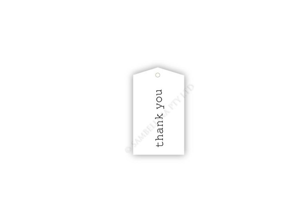 Sambellina Gift Tags - Classic Thank You