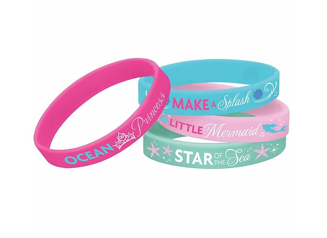 The Little Mermaid Bracelets 4pk