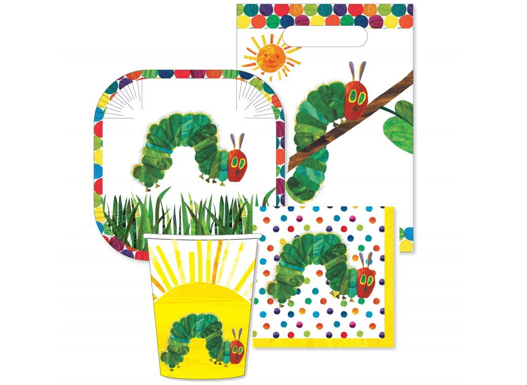 The Very Hungry Caterpillar 40pce Party Pack
