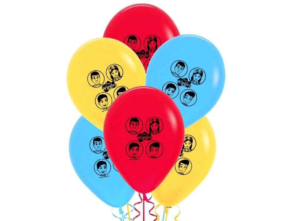 The Wiggles Balloons 6pk