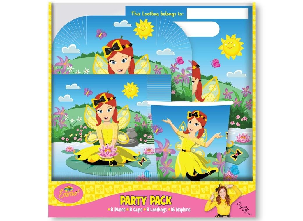 The Wiggles Emma 40pce Party Pack