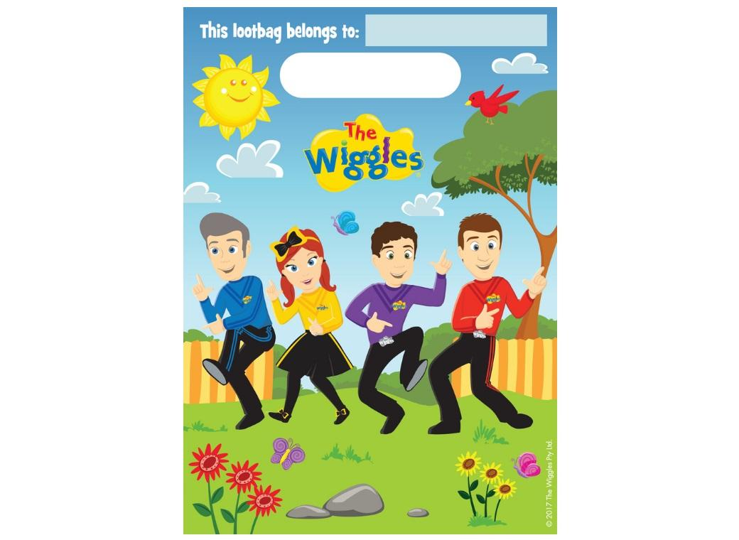 The Wiggles Loot Bags 8pk