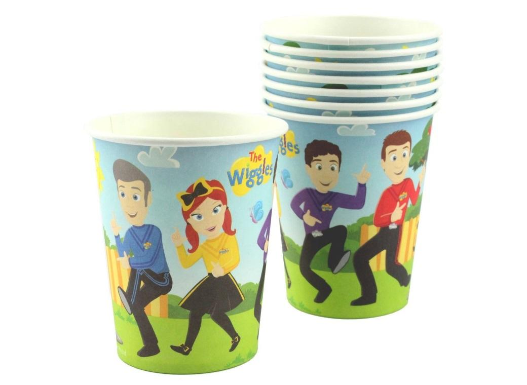 The Wiggles Cups 8pk