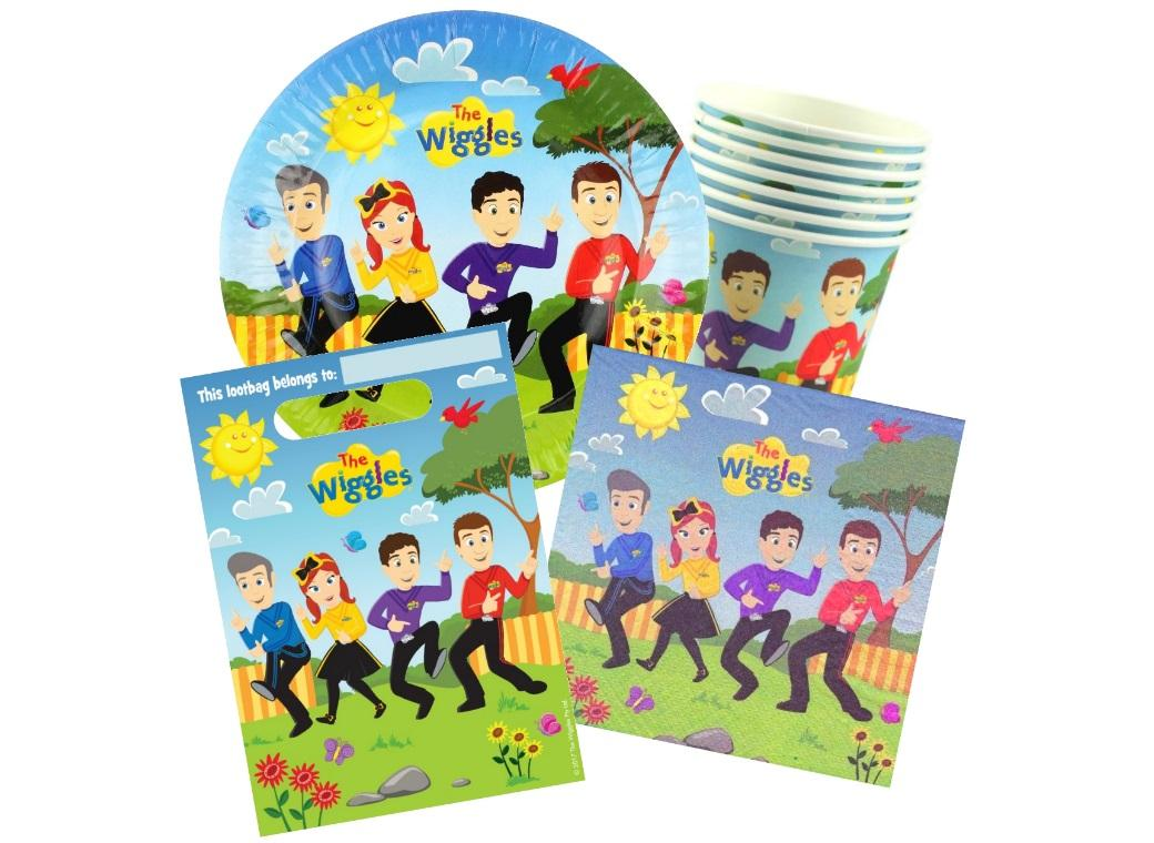 The Wiggles 40pce Party Pack