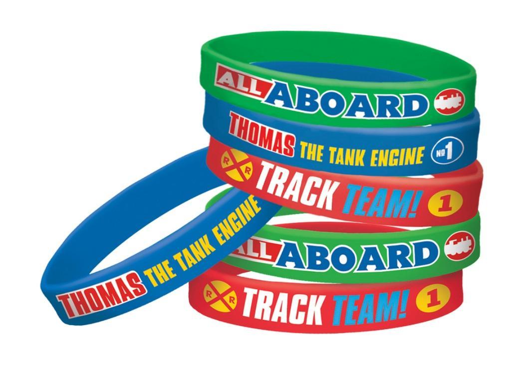 Thomas All Aboard Bracelets 6pk