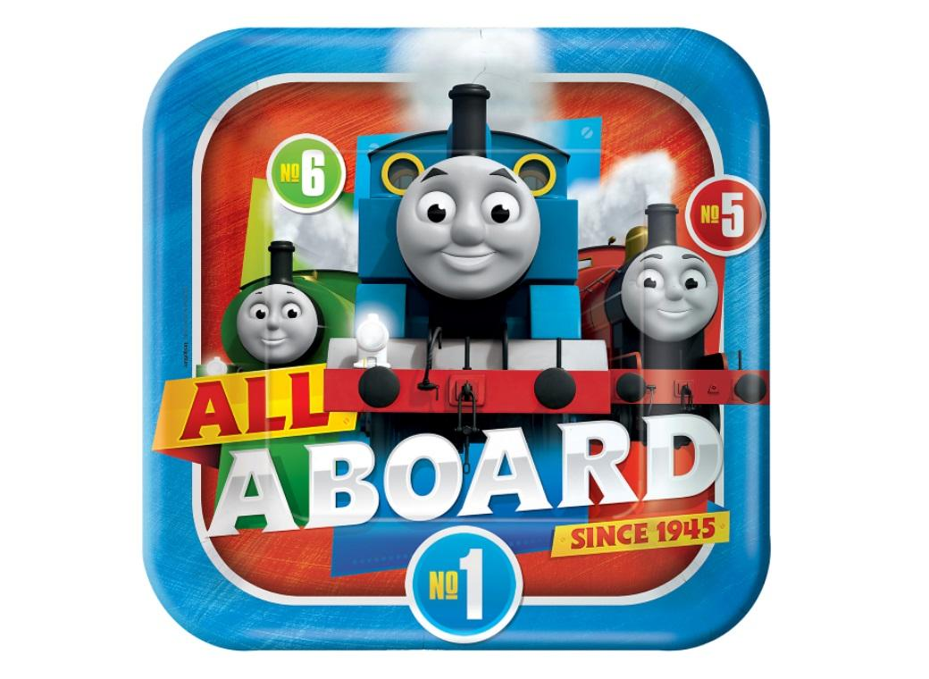 Thomas All Aboard Dinner Plates 8pk