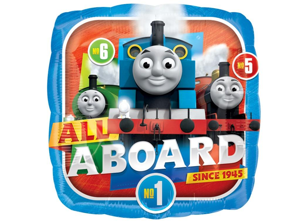 Thomas All Aboard Foil Balloon
