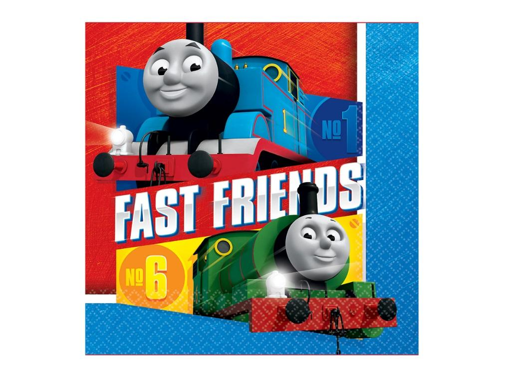 Thomas All Aboard Lunch Napkins 16pk