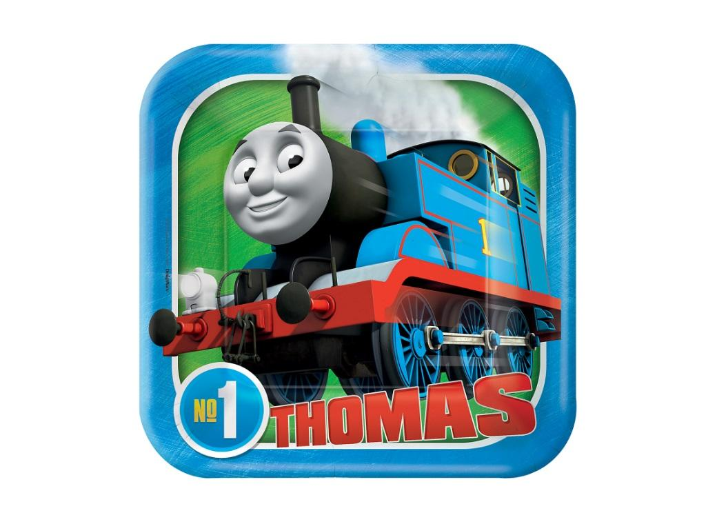 Thomas All Aboard Lunch Plates 8pk