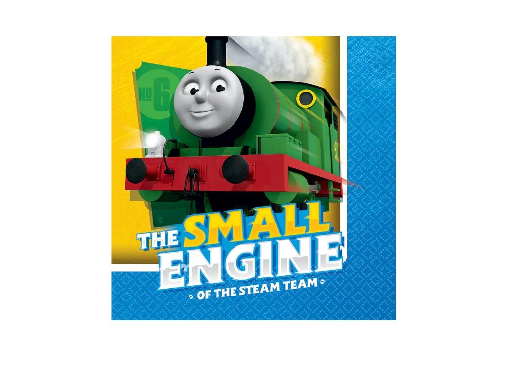 Thomas All Aboard Beverage Napkins 16pk