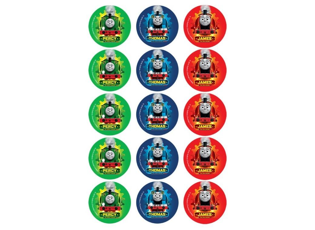 Edible Icing Cupcake Images - Thomas & Friends