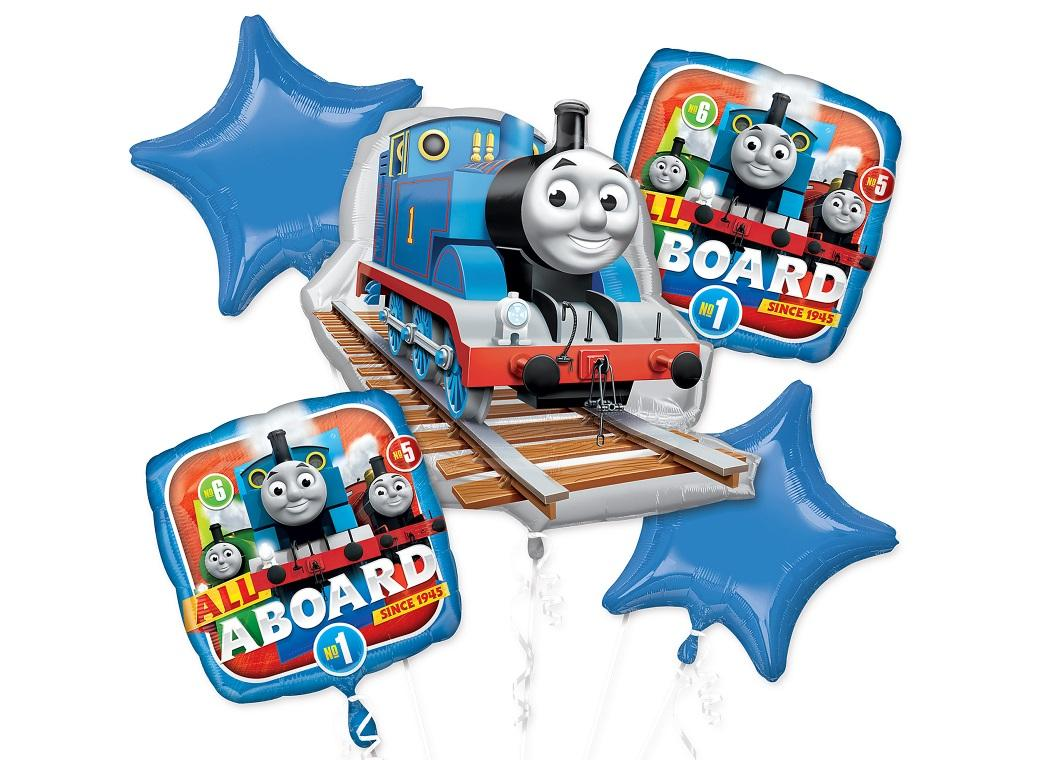 Thomas All Aboard Foil Balloon Bouquet
