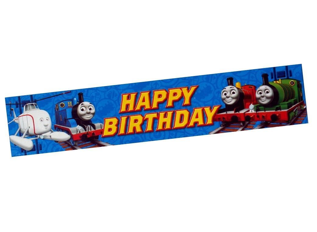 Thomas & Friends Party Banner
