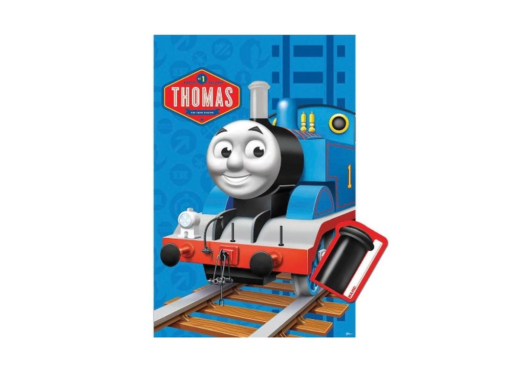 Thomas & Friends Pin the Chimney Game