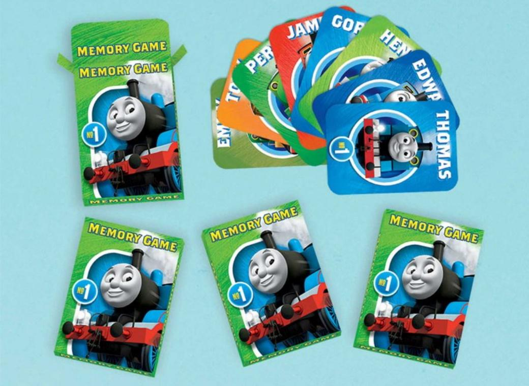 Thomas The Tank Engine Memory Game 6pk