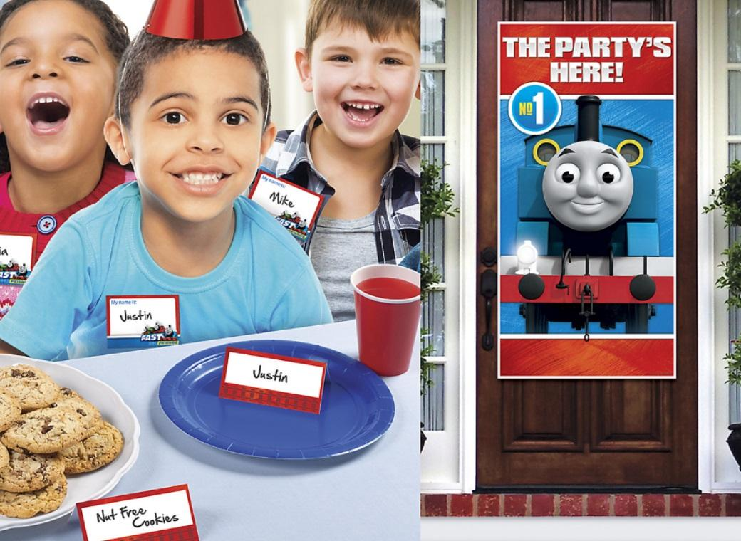 Thomas All Aboard Party Welcome Kit