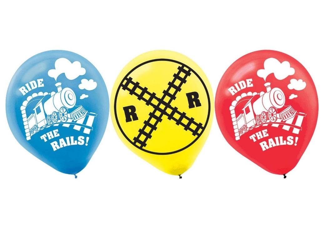 Thomas All Aboard Balloons 6pk