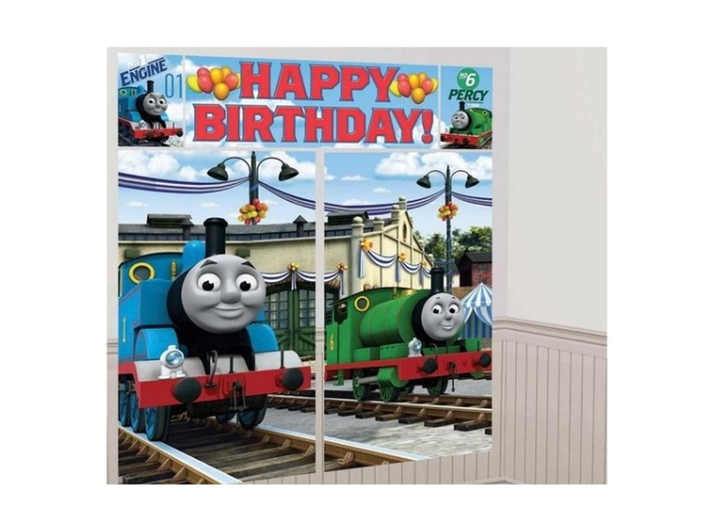Thomas U0026 Friends Party Wall Decorating Kit Part 38