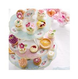 Truly Chintz 3 Tier Cake Stand