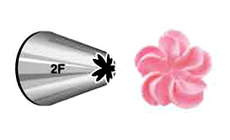 Wilton Drop Flower Tip #2F