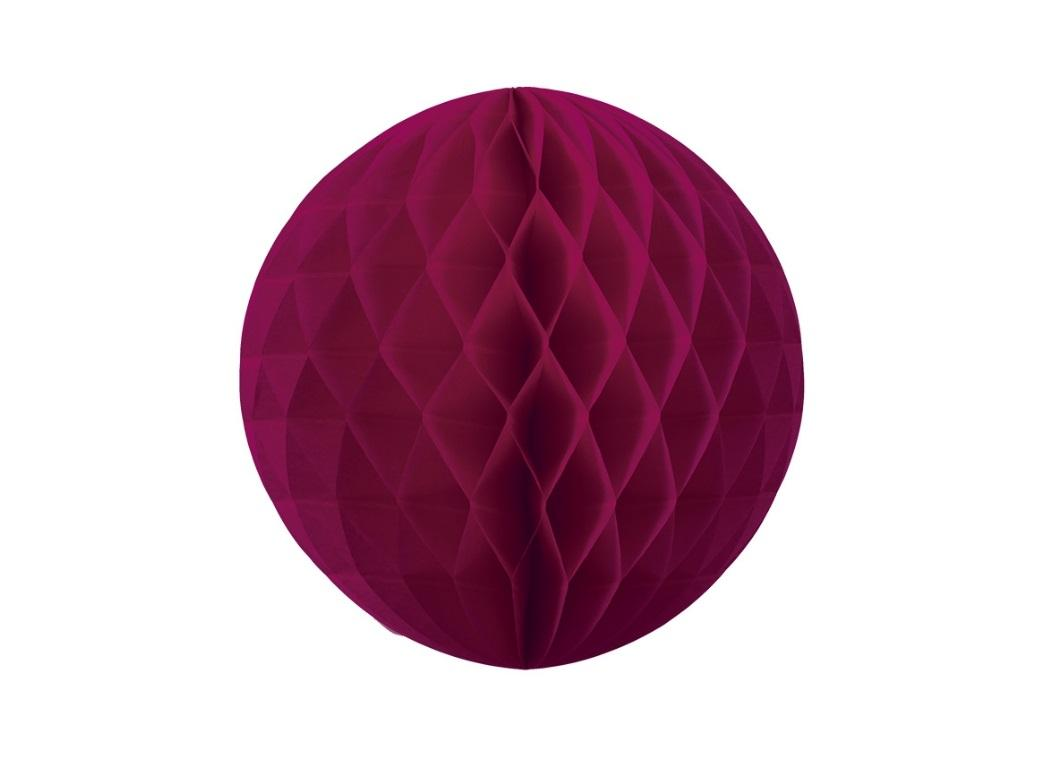 Tissue Honeycomb Ball 25cm - Wildberry